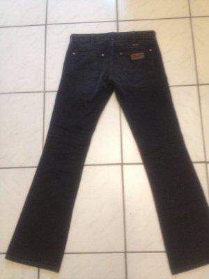 Wrangler Jeans schwarz Boot Cut Jeans