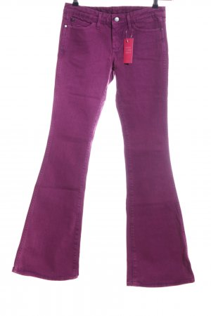 Wrangler Jeansschlaghose pink Casual-Look