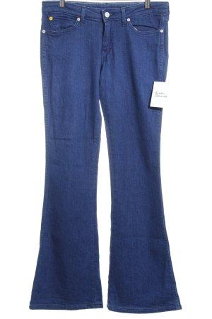 Wrangler Jeansschlaghose blau 90ies-Stil