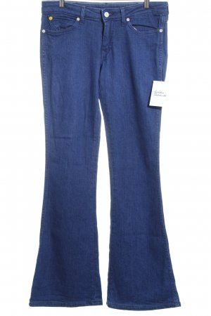Wrangler Jeans a zampa d'elefante blu Stile anni '90