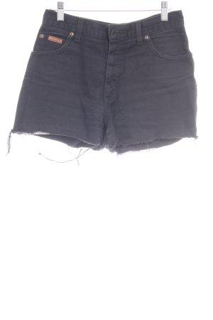 Wrangler Jeansshorts schwarz Casual-Look