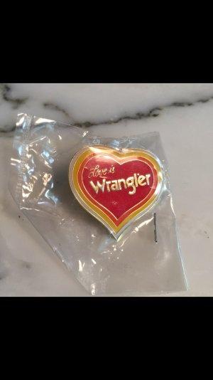 Wrangler Pin / Brosche NEU