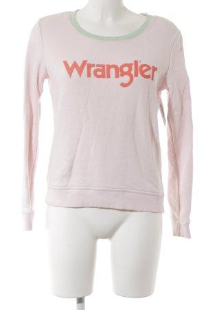 Wrangler Jersey de cuello redondo multicolor look casual