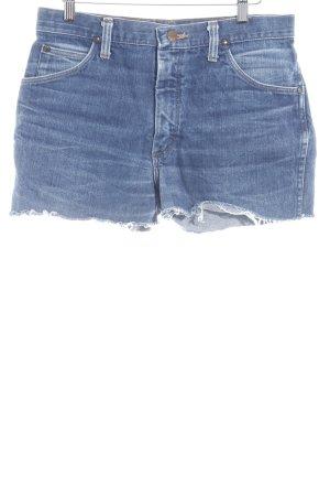 Wrangler Shorts blau Casual-Look