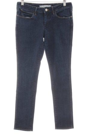 Wrangler Skinny Jeans dunkelblau Casual-Look
