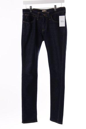 Wrangler Skinny Jeans Dunkelblau