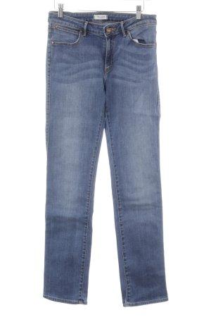 Wrangler Skinny Jeans kornblumenblau Casual-Look