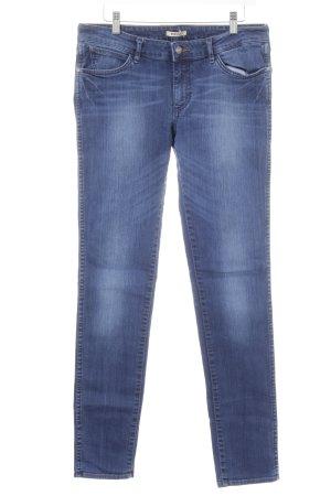 Wrangler Slim Jeans blau Casual-Look