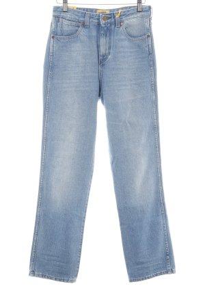 Wrangler Straight-Leg Jeans blau Jeans-Optik