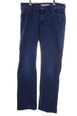 Wrangler Straight-Leg Jeans blau schlichter Stil