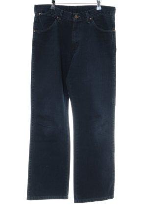 Wrangler Straight-Leg Jeans dunkelblau Casual-Look