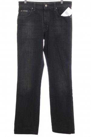 Wrangler Straight-Leg Jeans dunkelgrau 90ies-Stil