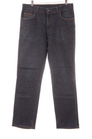 Wrangler Straight-Leg Jeans graublau Casual-Look