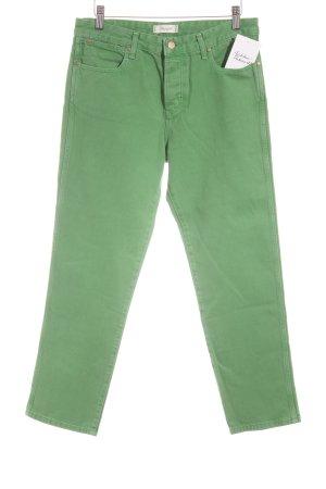Wrangler Jeans a gamba dritta verde stile casual