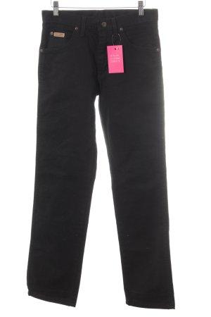 Wrangler Straight-Leg Jeans schwarz Casual-Look