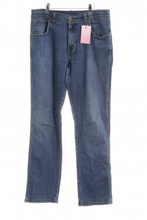 Wrangler Straight-Leg Jeans stahlblau Casual-Look