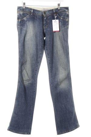 Wrangler Jeans coupe-droite bleu acier style décontracté
