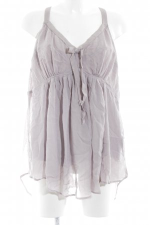 Wrap Blouse topje mauve casual uitstraling