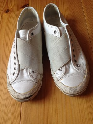 WRAP-OVER LEATHER SNEAKERS Gr. 36