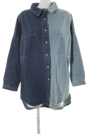 WRSTBHVR Jeansjurk leigrijs-blauw casual uitstraling