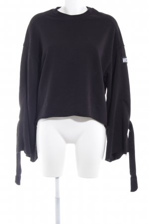 WRSTBHVR Oversized Pullover schwarz Casual-Look