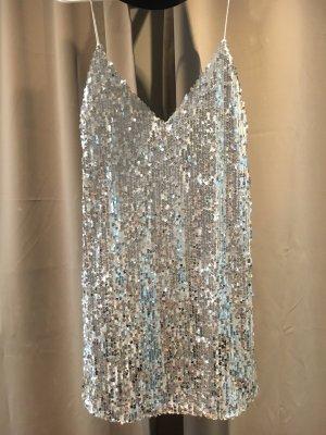 WRSTBHVR - Silbernes Paillettenkleid