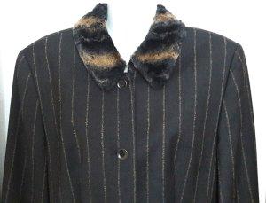 Gerry Weber Blazer nero-marrone chiaro Tessuto misto