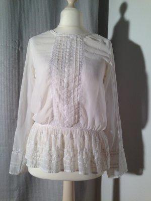 Zarte Bluse Vintage // Folklore // Ethno // Boho // Hippie von H&M