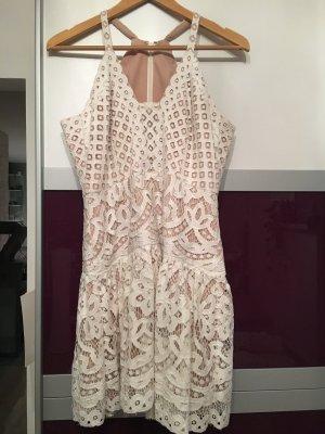 BCBG Maxazria Lace Dress multicolored