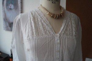 Wunderachöne Spitzen Bluse von Tredy Gr.38