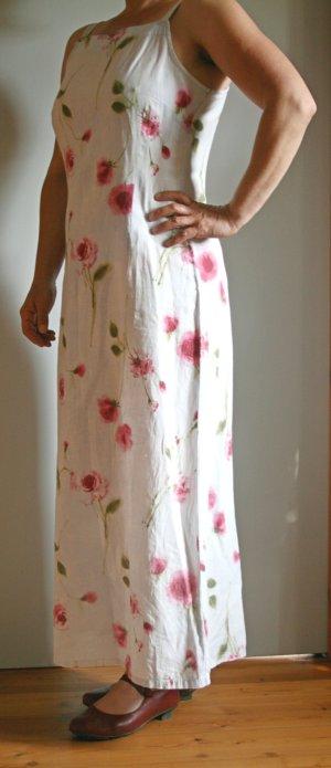 Wunderbar sommerliches Maxileinenkleid