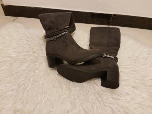 Graceland Platform Boots anthracite-dark grey