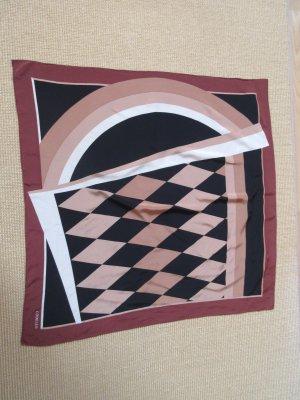 Codello Foulard en soie multicolore soie
