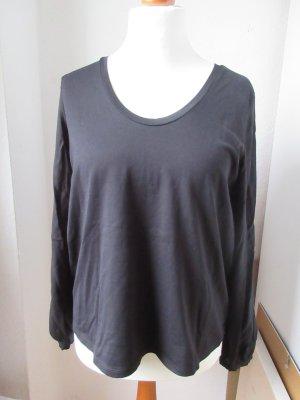 Marc O'Polo T-shirt col en V noir coton