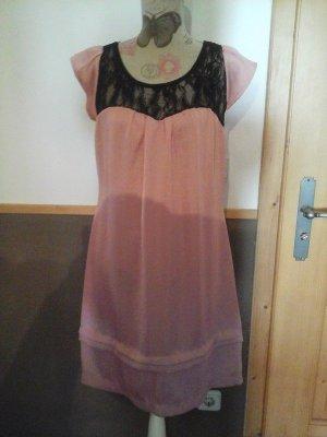 wunderdchönes Kleid von Atmosphere Gr. 40 rosa schwarz edel