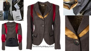 Wunderkind Blazer stile Boyfriend multicolore