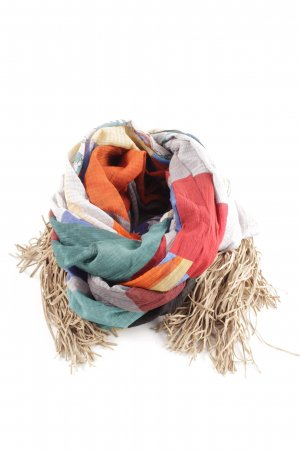 Wunderkind Fringed Scarf multicolored casual look