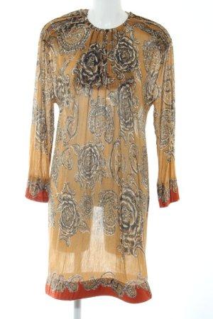 Wunderkind Jerseykleid Ornamentenmuster Hippie-Look