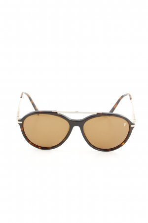 Wunderkind Aviator Glasses brown-black leopard pattern casual look