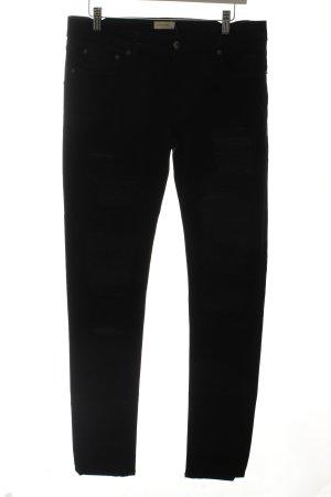 Wunderkind Straight-Leg Jeans schwarz Casual-Look