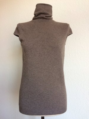 Wunderkind Wolfgang Joop Pullover 100% Cashmere taupe braun Gr. 34 TOP ZUSTAND!