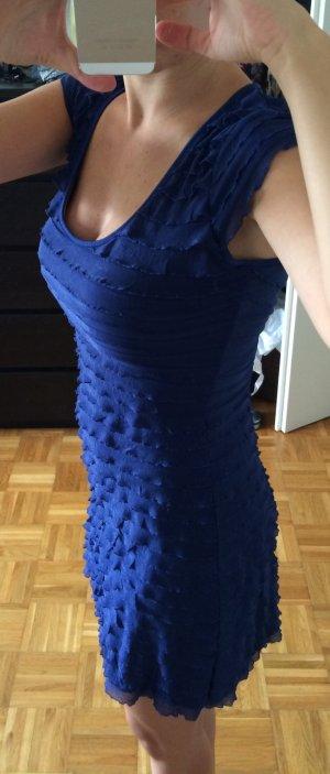 Wunderschön blaues Flatter-Minikleid