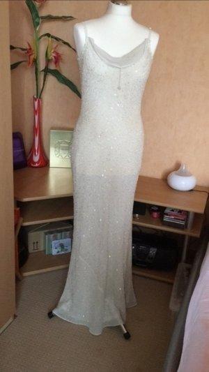 Wunderschöne Abendkleid/Hochzeitskleid große 36