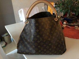 Louis Vuitton Carry Bag bronze-colored-camel leather