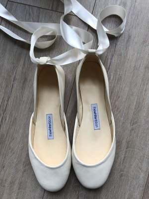 Ballerinas natural white-cream