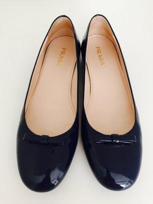 Wunderschöne Ballerinas von Prada, original, dunkelblau, Gr. 40