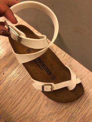Birkenstock Sandalo bianco
