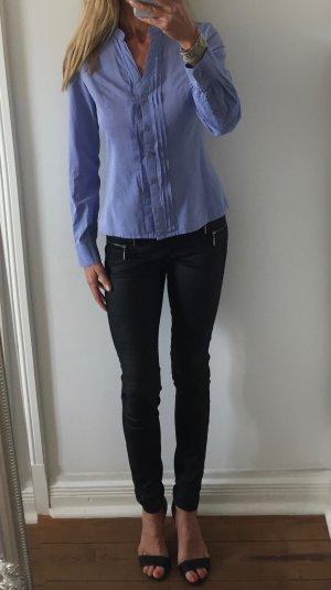 wunderschöne blaue Bluse von H&M * Baumwolle * Gr. 36 S