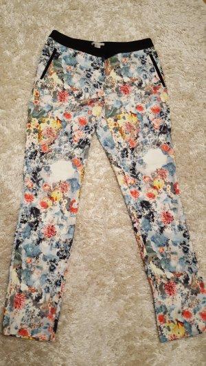 Wunderschöne blumige Hose, florales Muster, H&M, Gr. 38