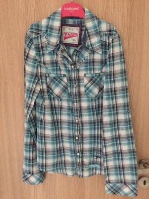 Wunderschöne Bluse der Marke Tom Tailor Denim, langärmlig Karo Bluse
